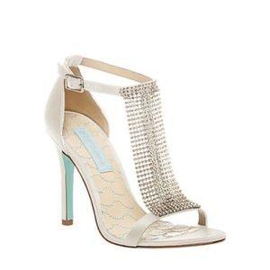 Crystal & Tiffany Blue Heel